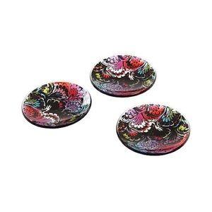 Cynthia Rowley 3pc accessory tray acrylic